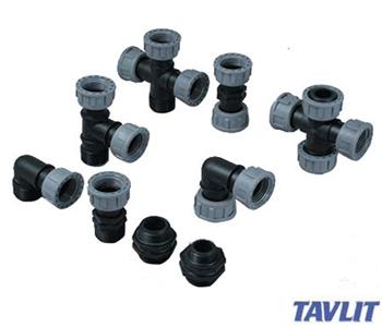 Raccordi per collettori e altro del taglia irrigazione for Tipi di tubi idraulici in plastica